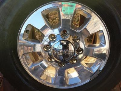 "$500 GMC Aluminum Alloy 18"" Wheels w/Michelin Tires"
