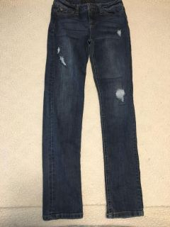 Girls celebrity pink brand jeans guc size 14
