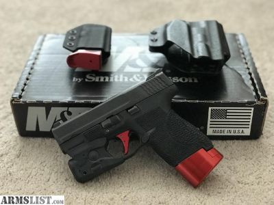 For Sale/Trade: S&W M&P Shield Custom