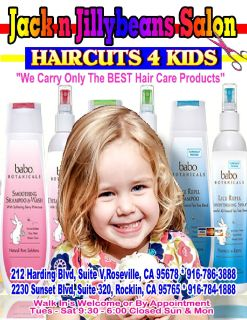 Baby's First HAIRCUT 916-786-3888
