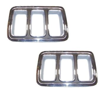 Purchase 70 MUSTANG TAIL LIGHT BEZELS, PAIR motorcycle in Sheffield Lake, Ohio, US, for US $167.95