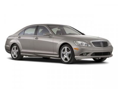 2009 Mercedes-Benz S-Class S550 (White)
