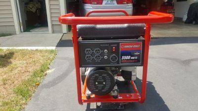 Troy Bilt 5500 watt Generator