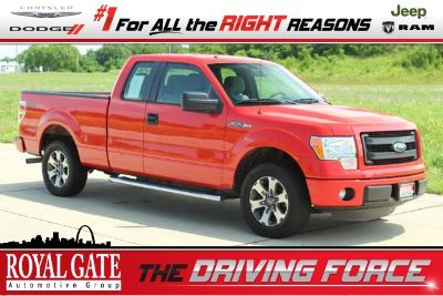 2013 Ford F-150 XL (Race Red)