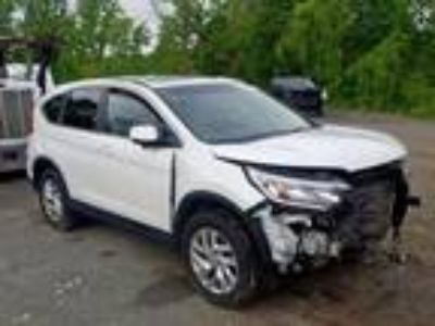 Salvage 2015 HONDA CR-V EX for Sale