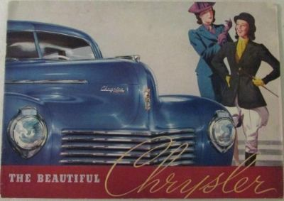 Sell 1940 Chrysler Imperial Saratoga New Yorker Traveler Windsor Royal Sales Brochure motorcycle in Holts Summit, Missouri, United States, for US $48.40