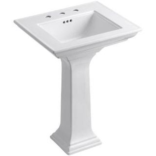Kohler Memoirs Stately Ceramic Pedestal Bathroom Sink - New!