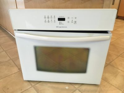 "Frigidaire White 30"" Built In Oven - USED"