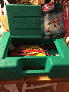 Knex Gear Action Set with case