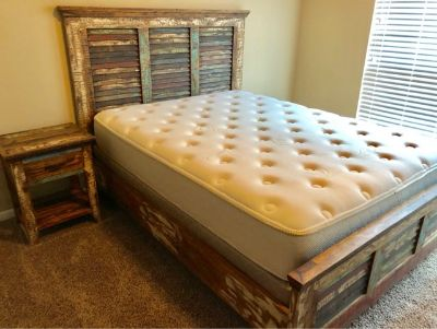 Texas Bedroom Set with queen sized mattress
