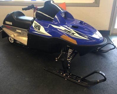 2017 Yamaha SRX 120 Sport Snowmobiles Hobart, IN