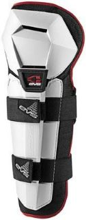 Buy EVS Option 2013 Youth Knee/Shin Guards White motorcycle in Holland, Michigan, US, for US $28.43