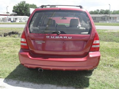 2003 Subaru Forester X (RED)