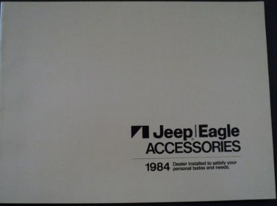 Buy 1984 AMC Jeep Eagle Accessories Catalog ORIGINAL Dealer Sales Brochure motorcycle in Holts Summit, Missouri, United States, for US $17.68