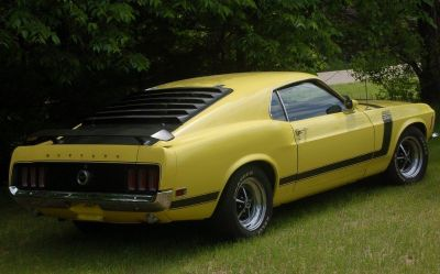 1970 MUSTANG BOSS 302, REAL-- NUMBERS MATCH!