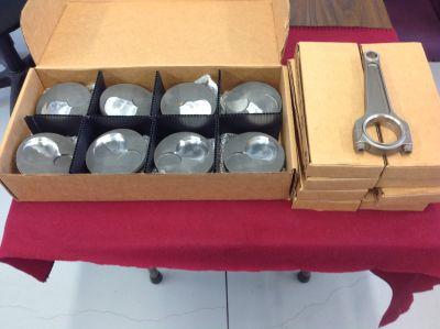 DODGE R6P8 Parts (BLock-NEW RODS-NEW PISTONS