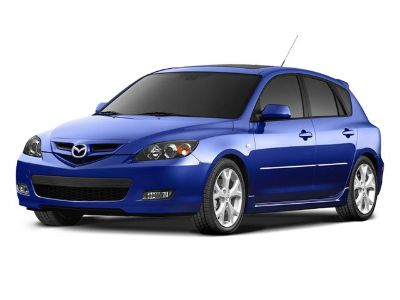 2008 Mazda Mazda3 s (Sunlight Silver Metallic)