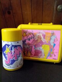Jem plastic lunchbox and thermos