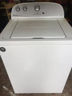 Whirlpool Washer HE Super Capicity
