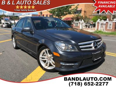 2013 Mercedes-Benz C-Class C300 4MATIC Luxury (Magnetite Gray Metallic)