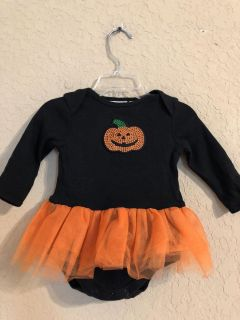 Mini Wear Halloween Adorable Onesie Dress. This Brand Is A Good Brand. Size 6-9 Months