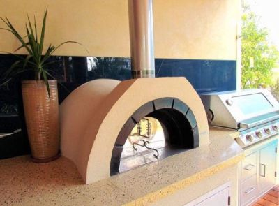 AD90 Amalfi Wood Fired Pizza Oven