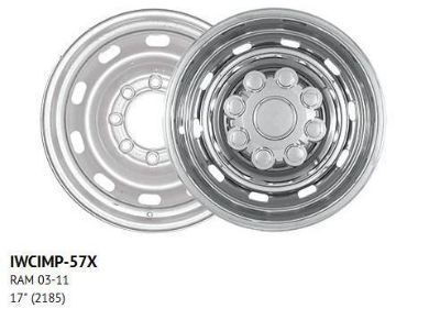 "Buy For: DODGE RAM 2500; IMP57X Chrome 17"" Wheel Covers Skins 4 Each 2003-2013 motorcycle in Cleveland, Ohio, United States, for US $101.78"