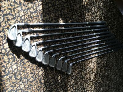 King Cobra Iron Set With Graphite Shafts