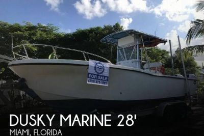 1999 Dusky 278 Open Fisherman