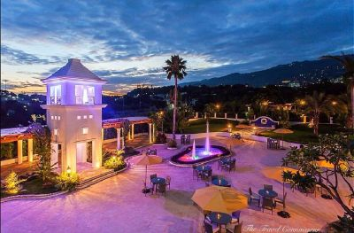 This Valentine/ With Valentine into a Fab hotel in Port-au-Prince, Haiti.