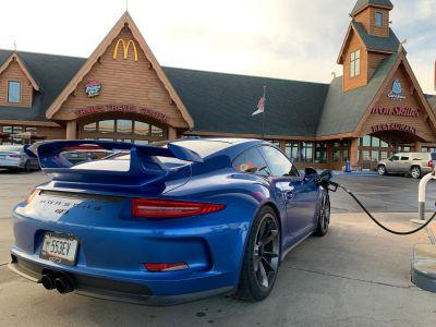 2015 GT3 Sapphire Blue Metallic