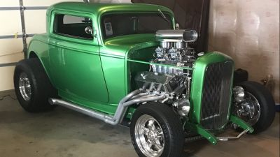 1932 Ford Three Window Coupe Pro Street