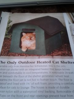 Heated Cat House