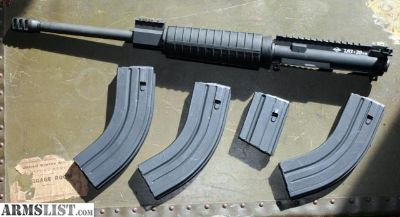"""For Sale/Trade: 7.62x39mm AR15 Complete Upper Yankee Hill Machinery 16"""" Carbine"""