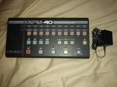 80's Suzuki RPM-40 Midi PCM Rhythm/Percussion Module for sale