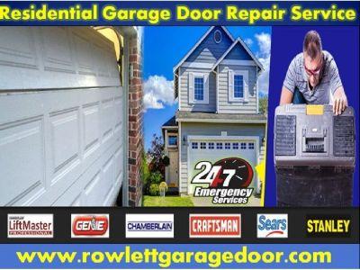 24/7 Emergency Garage Door Repair ($25.95) Rowlett Dallas, 75087 TX