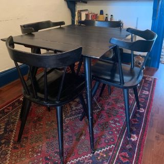 Paul McCobb Planner Group Dining Table and Chairs