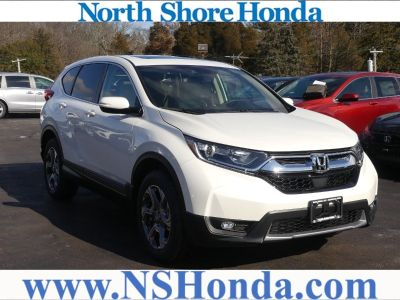 2018 Honda CR-V EX AWD (White Diamond Pearl)