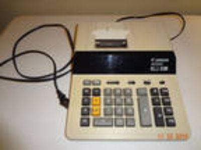 Canon MP25D Desktop Printing Calculator Adding Machine 2