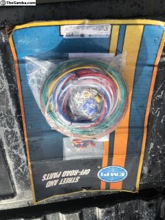 Empi wiring harness dune buggies rail/fusebox