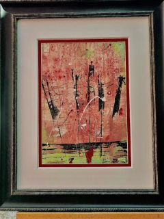 Sam Francis hand signed