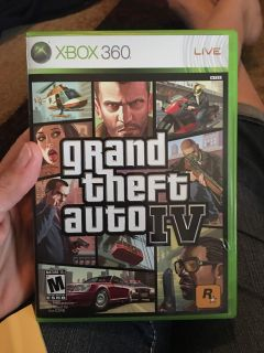 Xbox 350 grand theft auto IV - ppu (near old chemstrand & 29) or PU @ the Marcus Pointe Thrift Store (on W st)