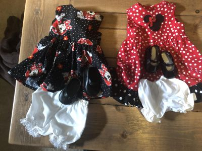 18 inch doll or American Girl Doll Minnie Mouse dresses