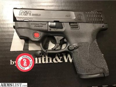 For Sale: Smith & Wesson S&W M&P9 2.0 Shield M2.0 with Crimson Trace