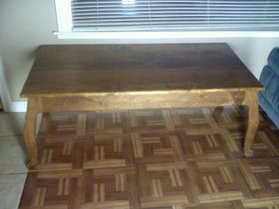 Handsome Handmade Hardwood Table