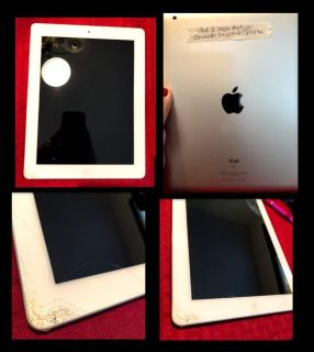 iPad 2/16gb. Cracked corner but fully functional