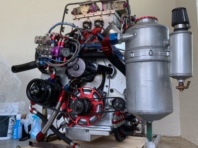 NEW 800 cubic inch PRO MOD Engine 2,500 HP