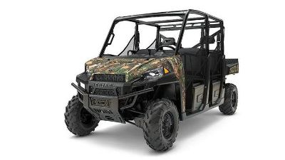 2017 Polaris Ranger Crew XP 900 EPS Camo Side x Side Utility Vehicles Chanute, KS