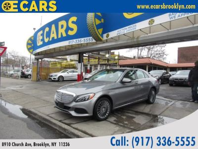 2015 Mercedes-Benz C-Class 4dr Sdn C300 Luxury 4MATIC (Silver)