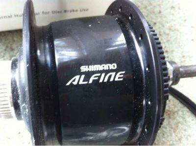 Shimano Alfine 8 speed hub and shifter